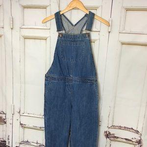 ASOS light denim overalls zipper size US 2 UK 6